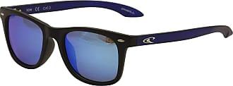 O'Neill O Neill TOW Unisex Polarized Sunglasses-Black Frame Blue Lens ONTOW-127P