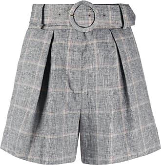 Sandro high waisted shorts - Cinza