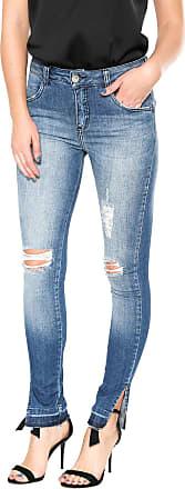 Lebôh Calça Jeans Lebôh Skinny Pietra Azul
