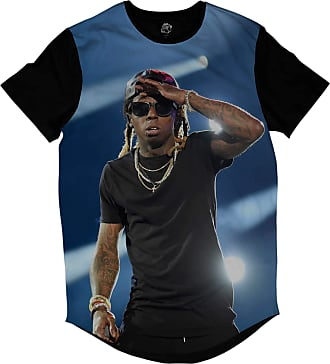 BSC Camiseta Longline BSC Rappers Lil Wayne Show Sublimada Azul
