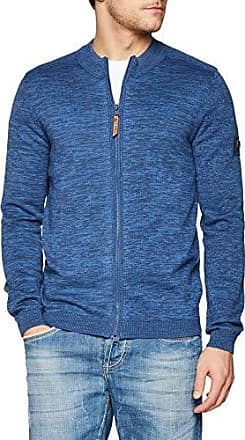 Camel active Herren Strickjacke Cable Jacket deep blue