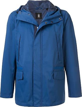 Kent & Curwen lightweight hooded jacket - Blue