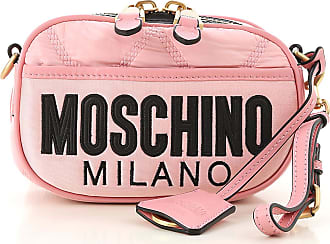Moschino Shoulder Bag for Women On Sale, Pink, Nylon, 2017, one size