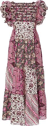 Ulla Johnson Zoya Printed Cotton-Silk Maxi Dress