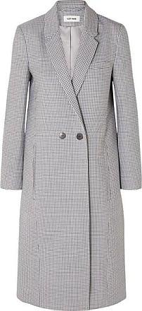 Cefinn Houndstooth Wool-blend Coat - Blue