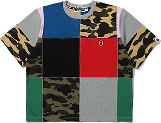 A Bathing Ape Patchwork Wide tee