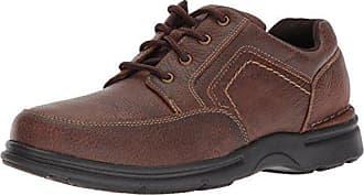 Rockport Mens Eureka Plus Mudguard Oxford, brindle brown, 6.5 W US