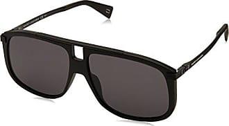 Marc Jacobs Mens Marc243s Square Sunglasses, MTT BLACK, 60 mm