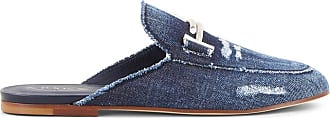Tod's Sabot in Denim