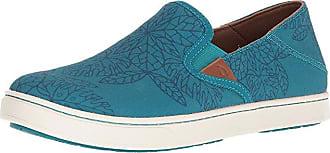 Olukai Pehuea POW! WOW! (Teal/Legion Blue) Womens Shoes