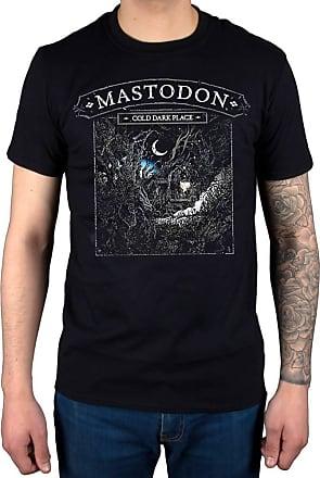 AWDIP Official Mastodon Cold Dark Place T-Shirt Emperor of Sand Skye Sun Tribal Demon Black