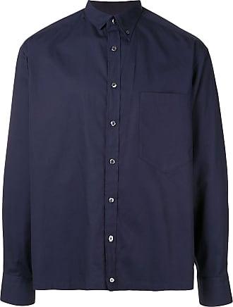 Kolor chest pocket longsleeved shirt - Blue