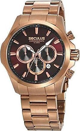 Seculus Relógio Seculus Masculino Ref: 13028gpsvra3 Cronógrafo Rosé