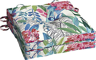 Better Homes & Gardens Painterly Tropical 15 in. Outdoor Bistro Cushion - Set of 2 - TJ0C464B-D9W2