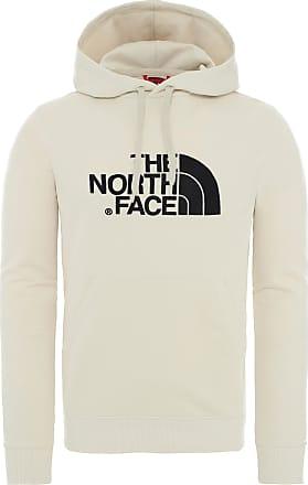 The North Face Drew Peak Hoodie Herren in vintage white/tnf black, Größe XS
