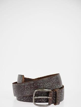 Dolce & Gabbana Vintage Effect Leather Belt 30mm Größe 80