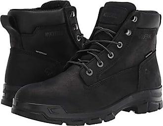 Wolverine Mens Chainhand Industrial Shoe, black 600, 14 Extra Wide US