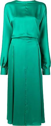 Nina Ricci draped dress - Verde