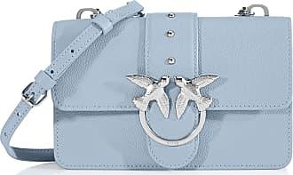 Pinko Love Mini Simply 1 Cl Pelle Bo Womens Cross-Body Bag, Blue (Azzurro Cic. India), 6x12.8x20.8 Centimeters (W x H x L)