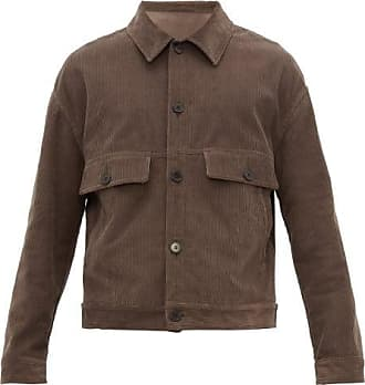 Raey Chest-pocket Cotton-blend Corduroy Jacket - Mens - Brown
