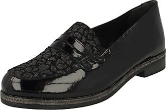 Remonte Dorndorf D2622-02 Black Leather Loafer Shoe 39