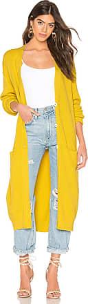 Free People Run To You Cardigan in Yellow