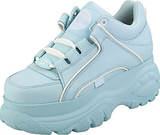 Buffalo 1339-14 2.0 Nappa Womens Platform Trainers in Light Blue - 6.5 UK