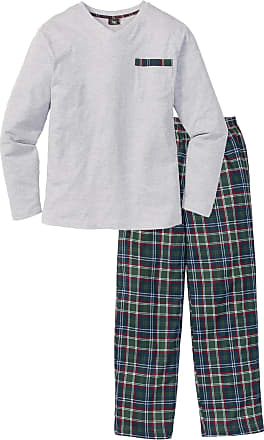 Bonprix Herr Pyjamas i vit lång ärm - bpc collection 1a9d0010c2099