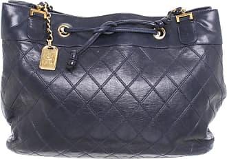 8f6e0d68287e4 Chanel gebraucht - Handtasche aus Leder in Blau - Damen - Leder