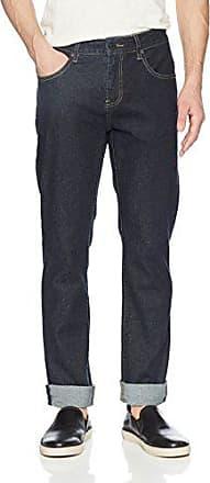 Ben Sherman Mens Straight Distress Wash 30 Inch Inseam Jean