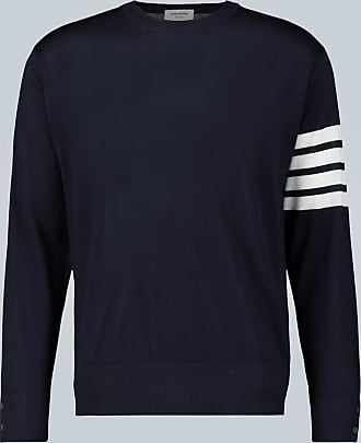 Thom Browne 4-Bar merino pullover sweater