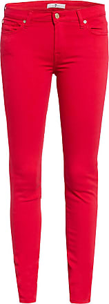 7 For All Mankind Skinny Jeans THE SKINNY - COLORED SLIM ILLUSION CHERRY