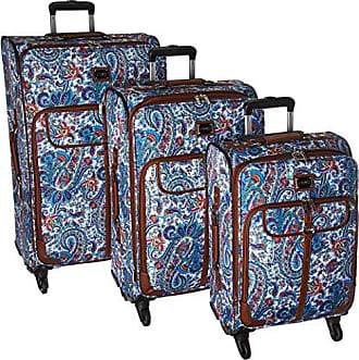5b2ddc9b63f28 Chaps 3 Piece Luggage Suitcase Spinner Set