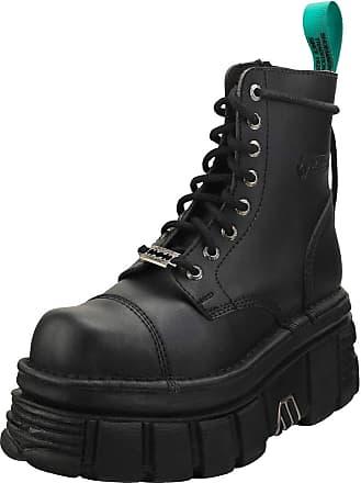 New Rock M.TR061-S1 Itali Floral Black Womens Boots