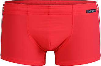 Olaf Benz Mens BLU1200 Beachpants Swim Trunks, red, XL