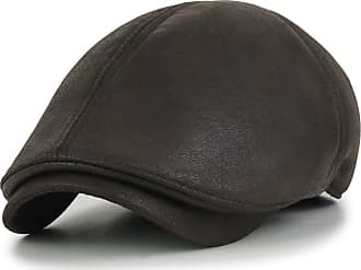 Ililily New Men¡¯s Flat Cap Vintage Cabbie Hat Gatsby Ivy Caps Irish Hunting Hats Newsboy with Stretch fit - 001-3