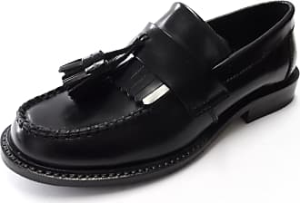 Ikon Ladies IKON Selecta tassel leather loafers (8/41, black)