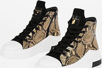 Cinzia Araia high-top sneakers in pelle stampa pitone taglia 38