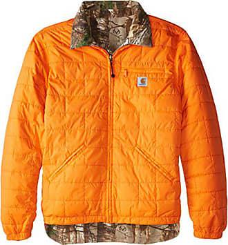 Carhartt Work in Progress Mens Big & Tall Woodsville Jacket,Blaze Orange,4X-Large