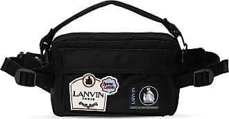 Lanvin Branded Belt Bag Mens Black