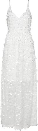 Bonprix Langes Spitzenkleid ohne Ärmel weiß, bonprix