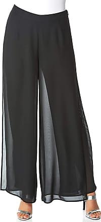 Roman Originals Ladies Black Jersey Hareem Trousers