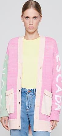 Escada Sport Cotton Color Block Cardigan
