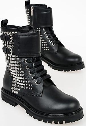 Salvatore Ferragamo Studded CROTONE Leather Boots size 5,5