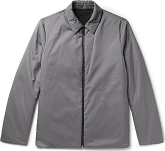 979d5dcf72 Theory Odin Reversible Puppytooth Shell Shirt Jacket - Gray