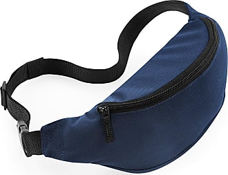 BagBase Adults/Unisex Belt/Bum Bag With Adjustable Belt. Various Colours Available - Walking/Running/Holiday. Fanny Pack. (French Navy)