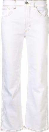 3x1 Calça jeans reta - Branco
