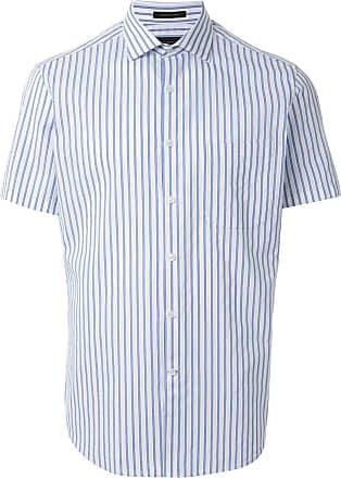 Durban striped short sleeve shirt - Blue