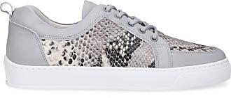 Leandro Lopes Sneaker low EZIO Kalbsleder grau