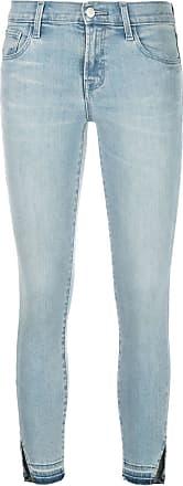 J Brand Calça jeans skinny cropped - Azul